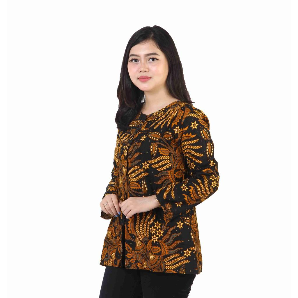Jual Blus Wanita Batik Terbaru Lazada Co Id