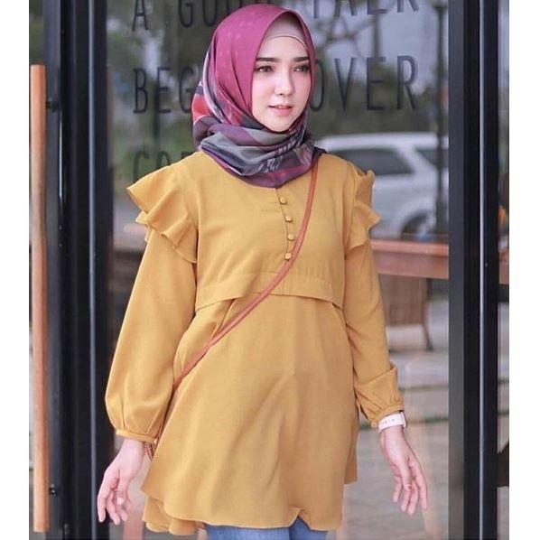 Newone shop Azizah - Atasan Muslim Wanita - Pakaian Muslim Wanita - Baju  Muslim Wanita - 65384283c0