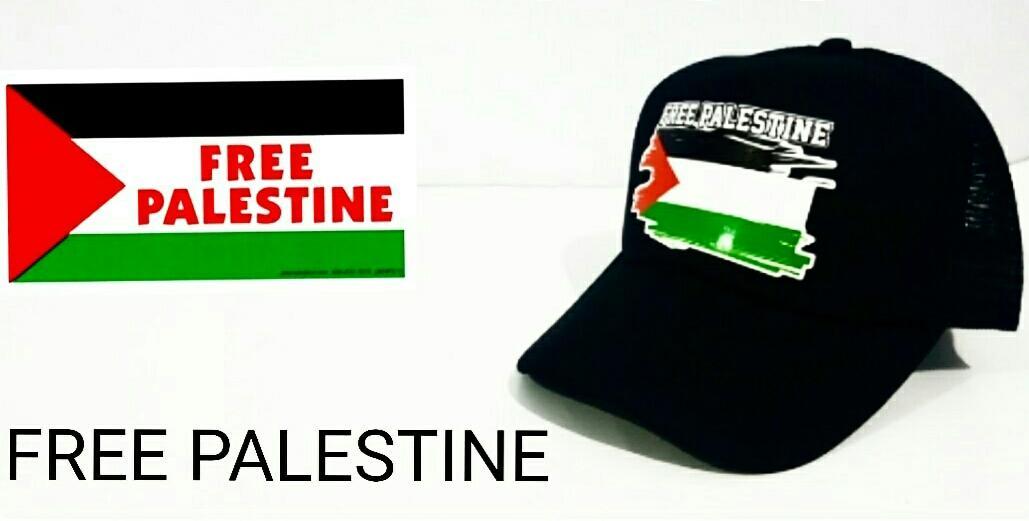 Topi Trucker Jaring Save Palestine