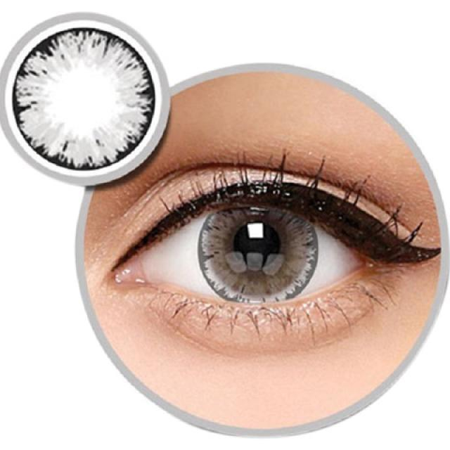 Baby Eyes X2 Ice Nude N8 Softlens by Exoticon – Abu + Free Lenscase