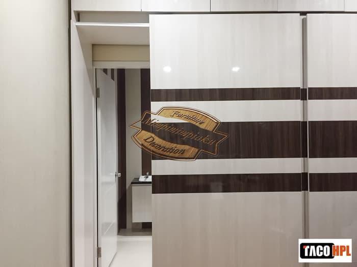 Promo   Lemari Pakaian - Lemari Baju Sliding - Furniture Custom   Original