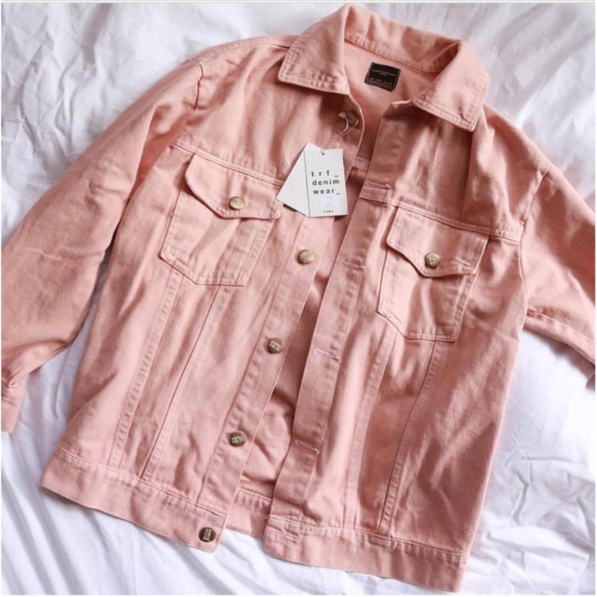 List Harga Jaket Jeans Big Size Termurah November 2018 Cari Dan Jumbo Xxl Xxxl Xxxxl Vrichel Blazer Wanita Premium Keila Pink