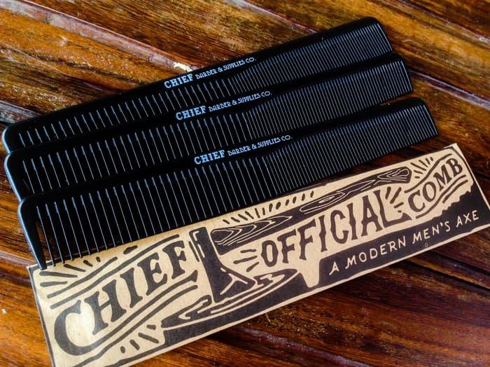 Promo - SISIR POMADE ORIGINAL CARBON CHIEF OFFICIAL COMB / A MODERN MEN'S AXE