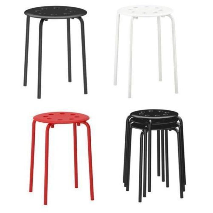 IKEA MARIUS Stool Bangku / tempat duduk / kursi