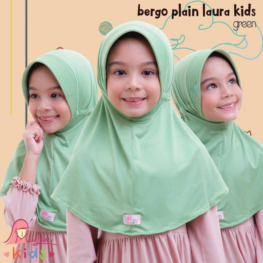 Jilbab anak / Plain Laura Kids Miulan