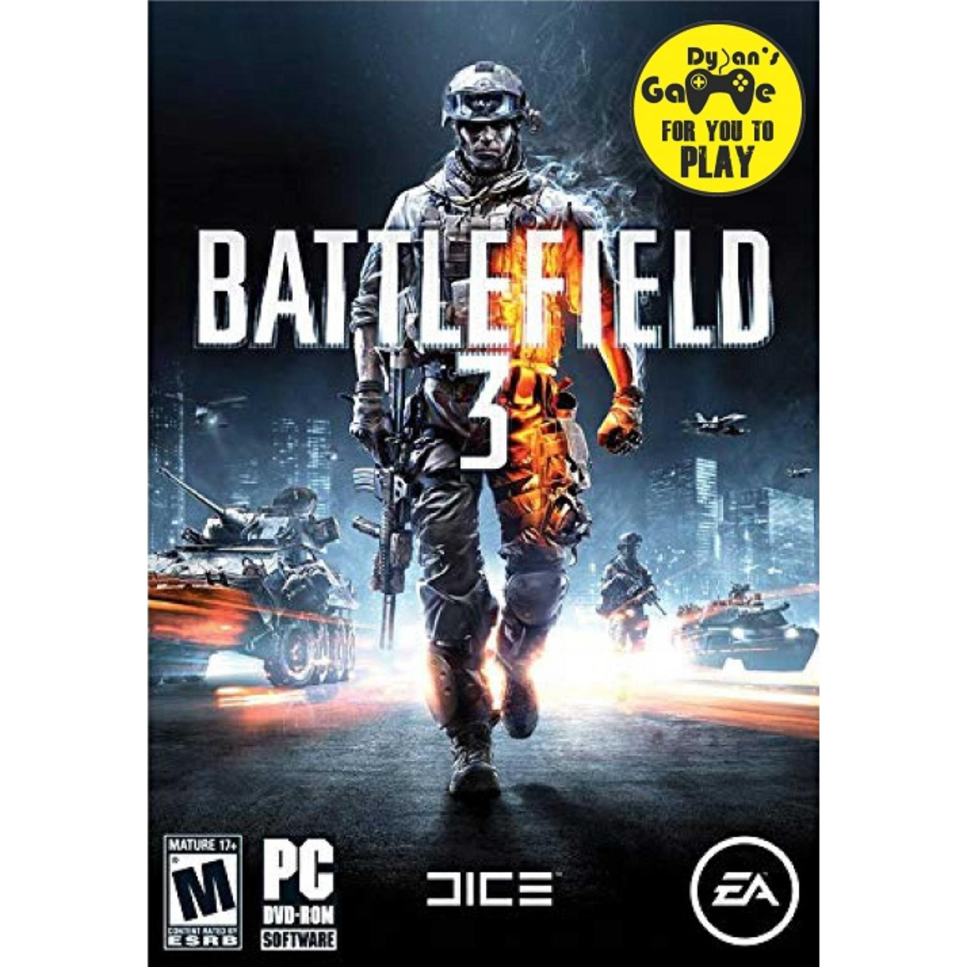 Battlefield 3 Pc - Full Game By Dylansgame.