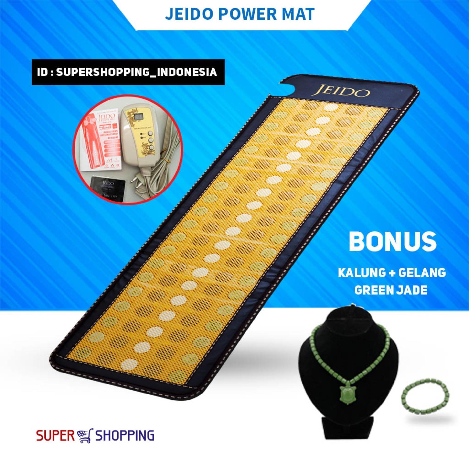 Buy Sell Cheapest Original Gelang Kesehatan Best Quality Product Ginsamyong Kalung Asli Jeido Power Mat Matras Bonus