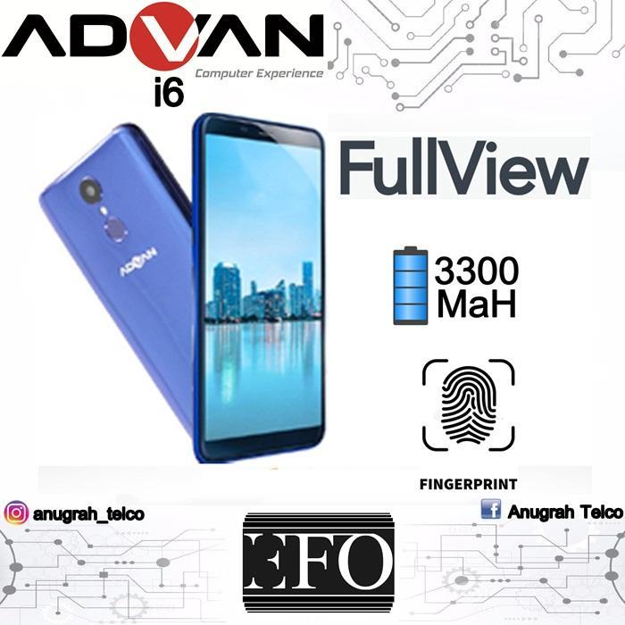 Advan I6 Full View Ram 2GB 16GB Rom Garansi Resmi