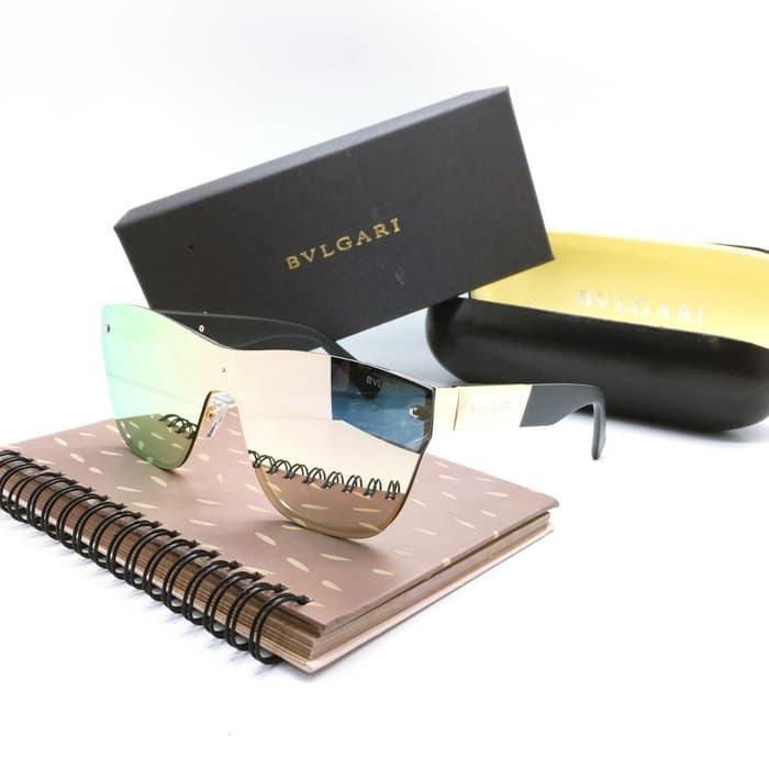 Kacamata / Sunglass Wanita Bvlgari M-3021 Fullset + Cairan Pembersih