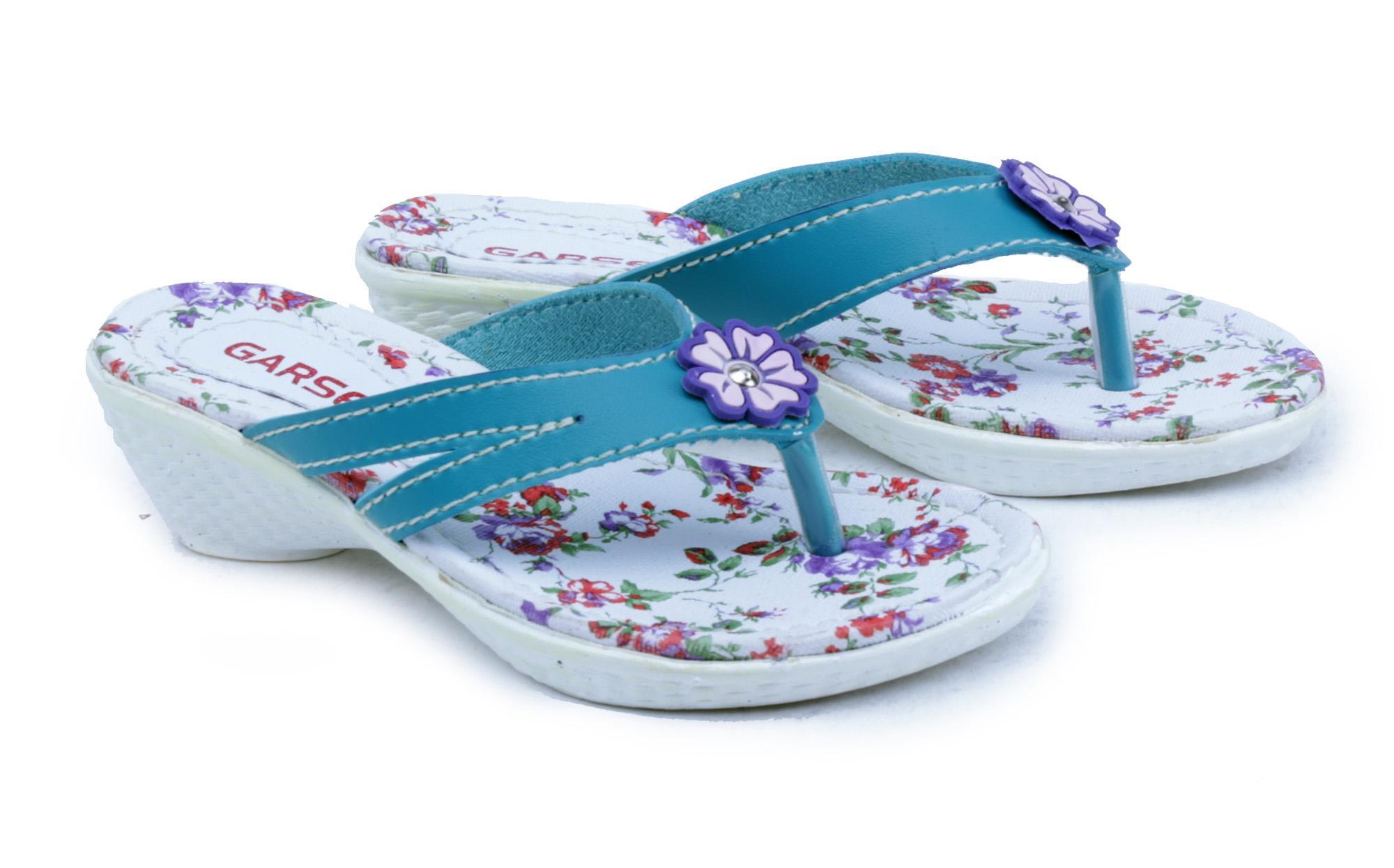 Garsel Shoes GUJ 9013 Sandal Anak Casual Perempuan-Sintetis-Tpr-New Katalog Lucu Bagus(Tosca)