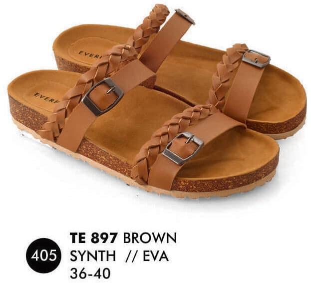 Everflow EP013 Flat Shoes Anak Perempuan - Bludru - Rubber - Lucu Dan Keren - BlackIDR112770