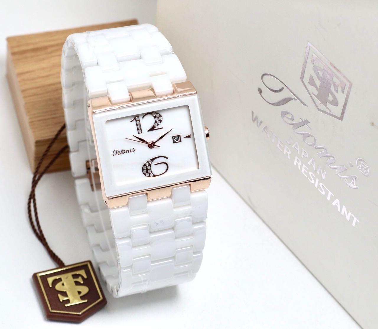 JAM TANGAN TETONIS FORMAL-CERAMIC FOR WOMAN-MODEL AC