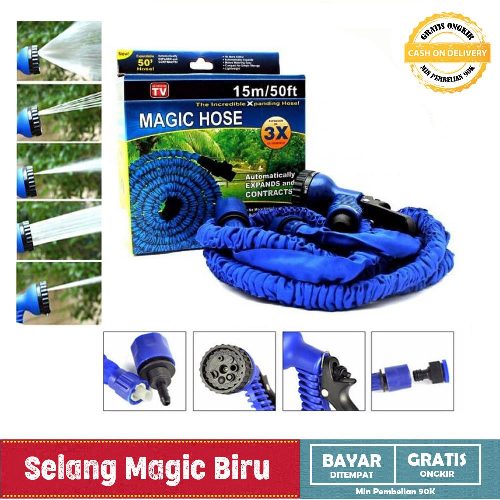 Selang Magic Hose 15 m Magic X-hose Auto Expandable 15 m - Selang Air