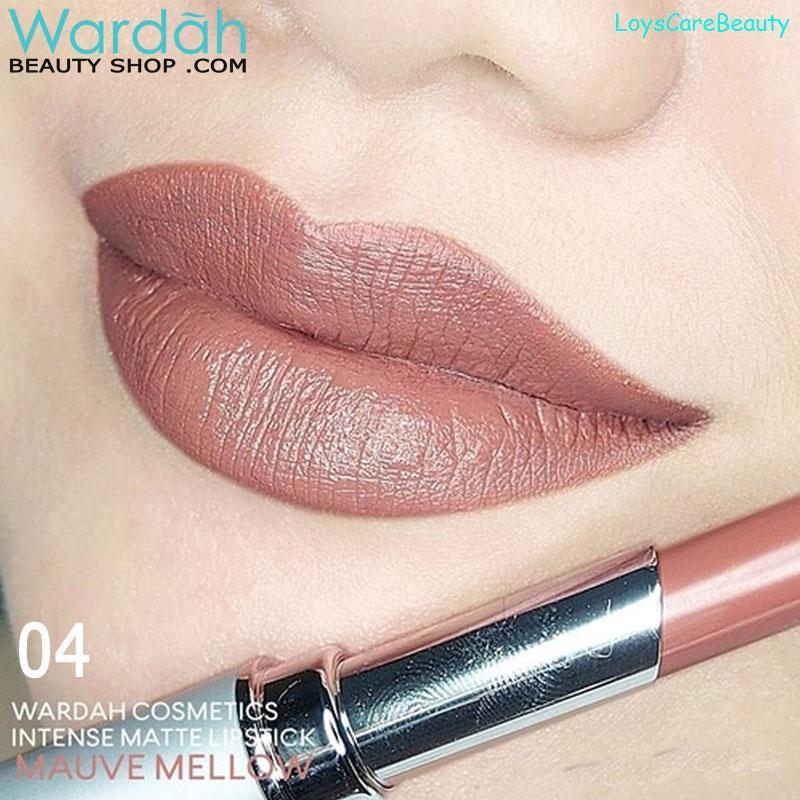 Wardah INTENSE MATTE LIPSTICK 04 - Mauve Mellow