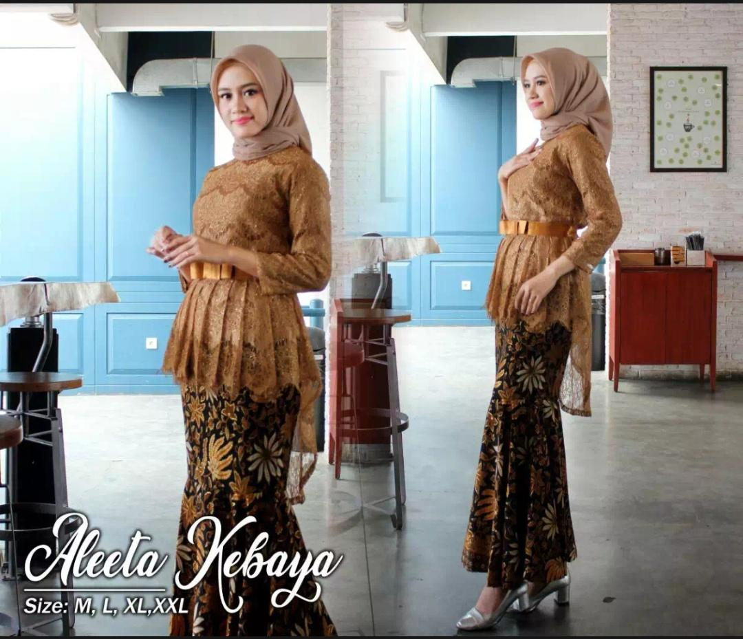 Setelan Kebaya WANITAKebaya Modern Hijab Remaja Style Modis Cantik rok  prisket pakaian baju wanita kebaya batik b5417c47eb