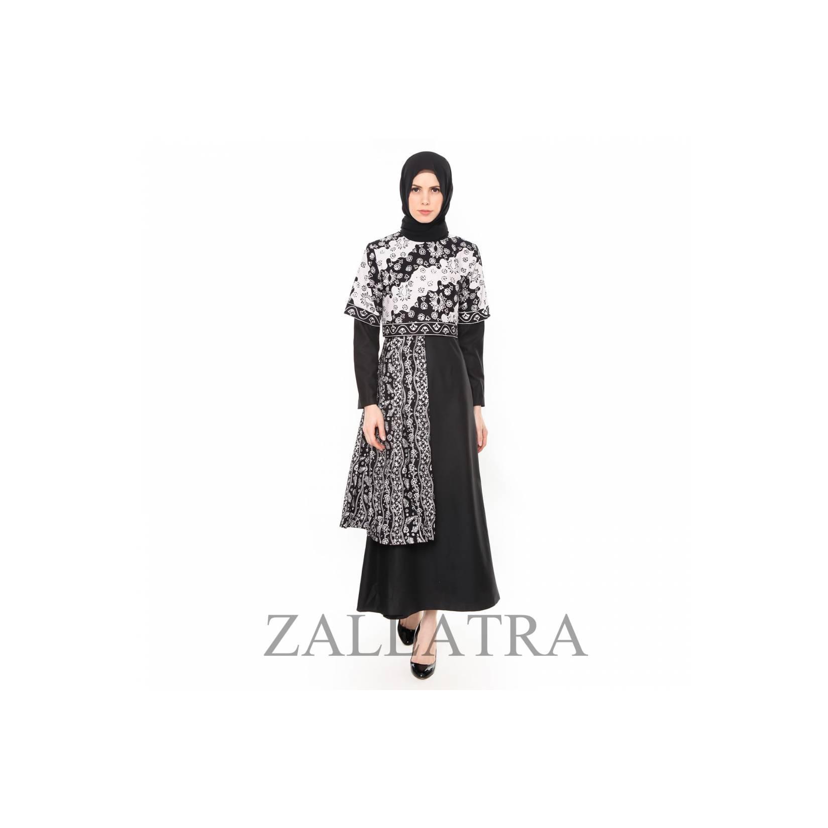 Gamis Batik Wanita Asli Jambi Berkualias - Zallatra GM06