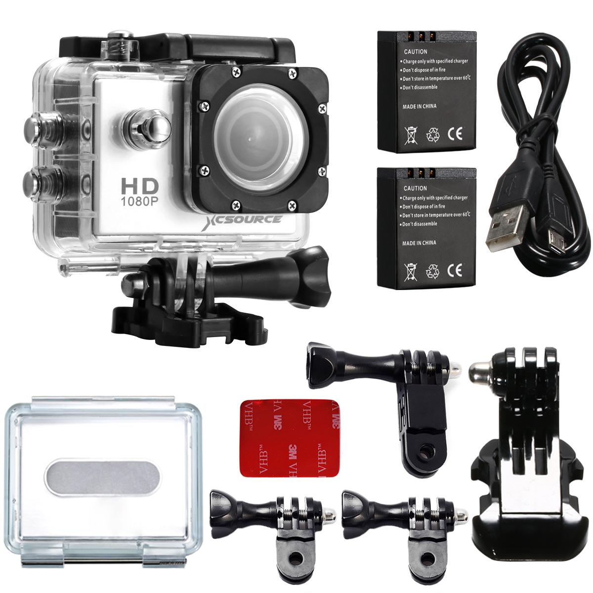 SJ4000 Full HD Helmet Waterproof Action Camera with Strap Extra Battery LF556