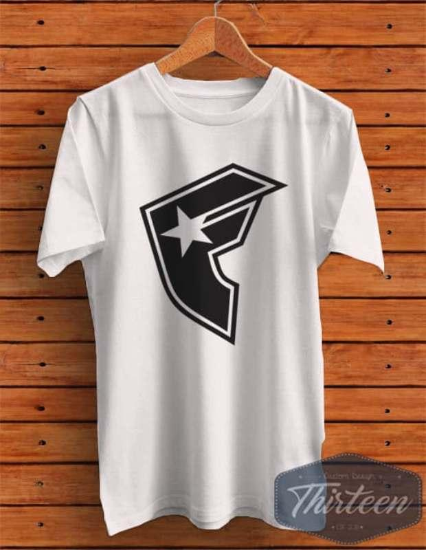 Kaos Baju Rep Famous Kualitas Distro - Putih