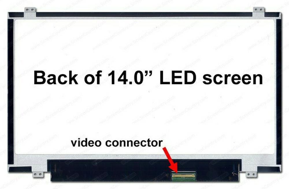 LCD LED 14.0 Slim 40 Pin Asus A450L X450V X450C X450J X450VB X455L  di lapak elektroid elektroid