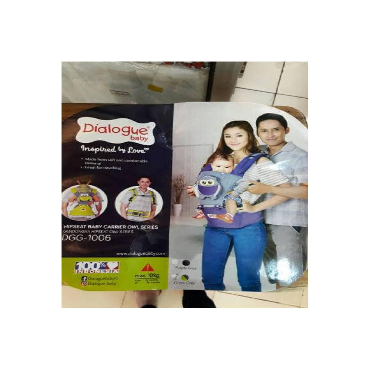 Buy Sell Cheapest Baby Carrier Dialogue Best Quality Product Deals 2 In 1 Sirkulasi Owl Series Hijau Gendongan Hipseat