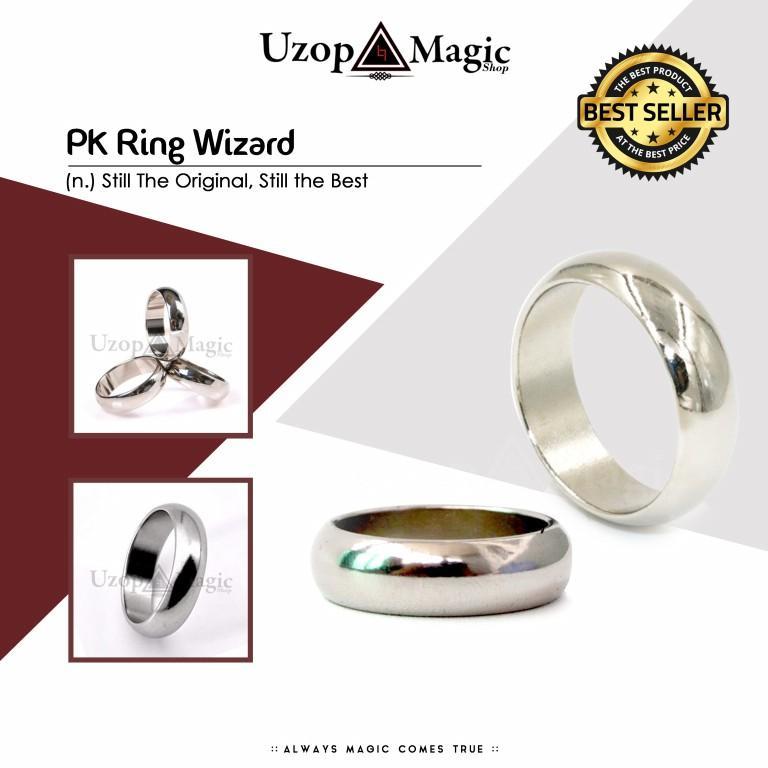 Uzop Magicshop Pk Ring Wizard (Alat Sulap)