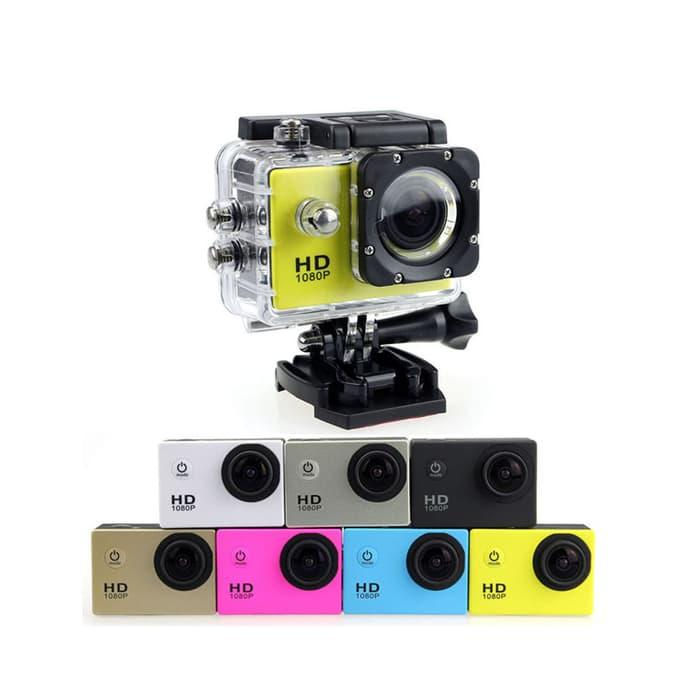 Sports Cam Full HD DV 1080P Waterproof 16MP Action Camera/ Kogan Terlaris di Lazada
