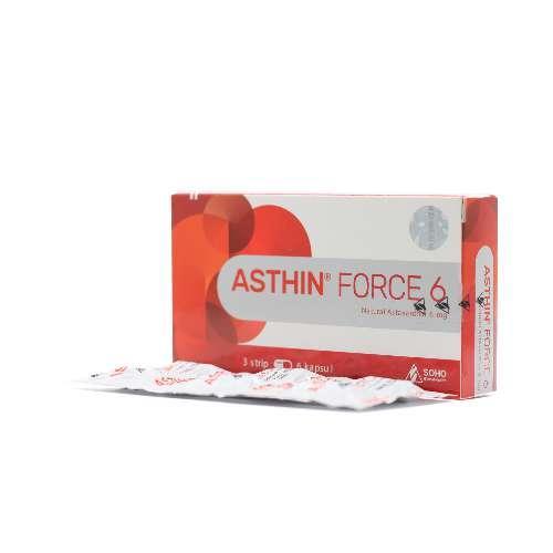ASTHIN FORCE 4 MG (6 TAB/STRIP)