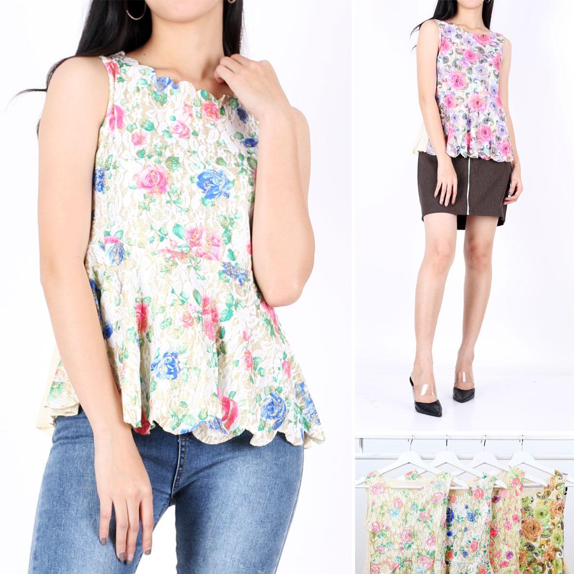 Oma Holley Fashion Regan Baju Import Baju Atasan Baju Wanita Baju Blouse Baju Tunik Baju Kerja