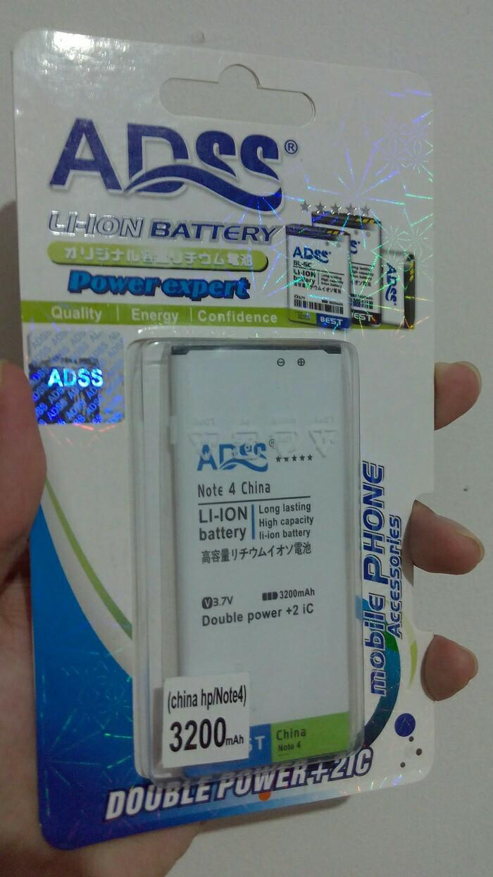 baterai batere double power ADSS samsung note 4 replika Genzatronik