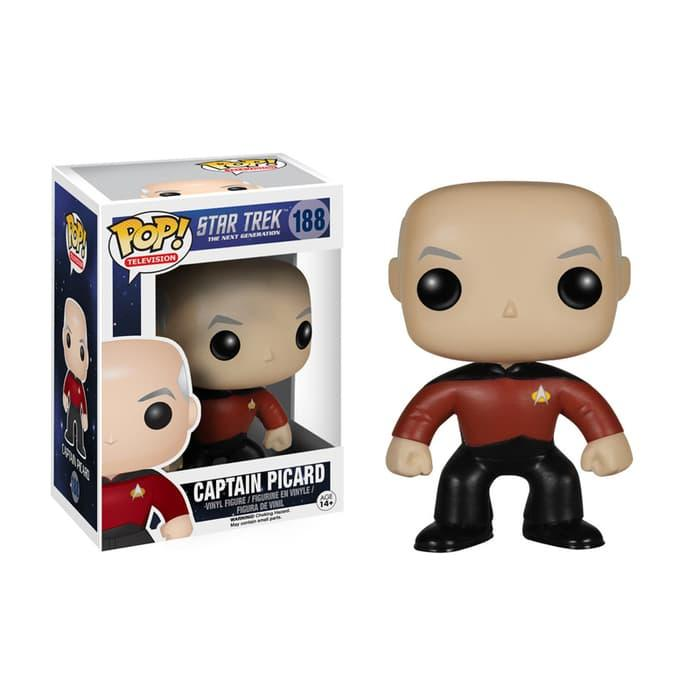 Funko Star Trek - The Next Generation - Captain Jean-Luc Picard POP!