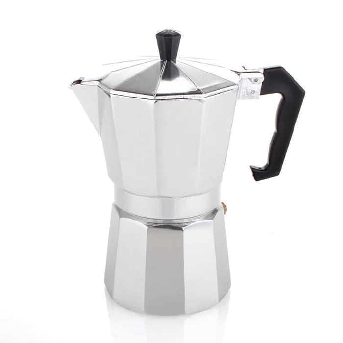 6 Cup Coffee Pot /Teko Kopi / Espresso Pot /Moka Pot Alumunium