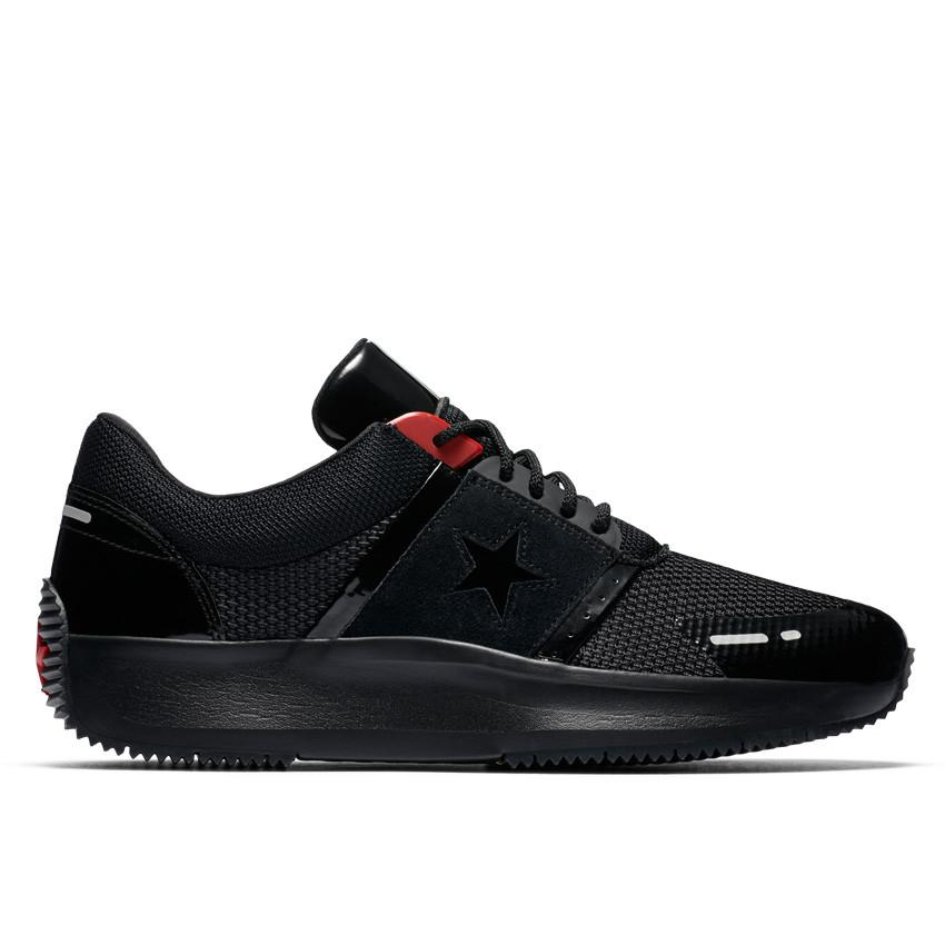 CONVERSE RUN STAR Y2K - BLACK/BLACK/RED - CON163048C