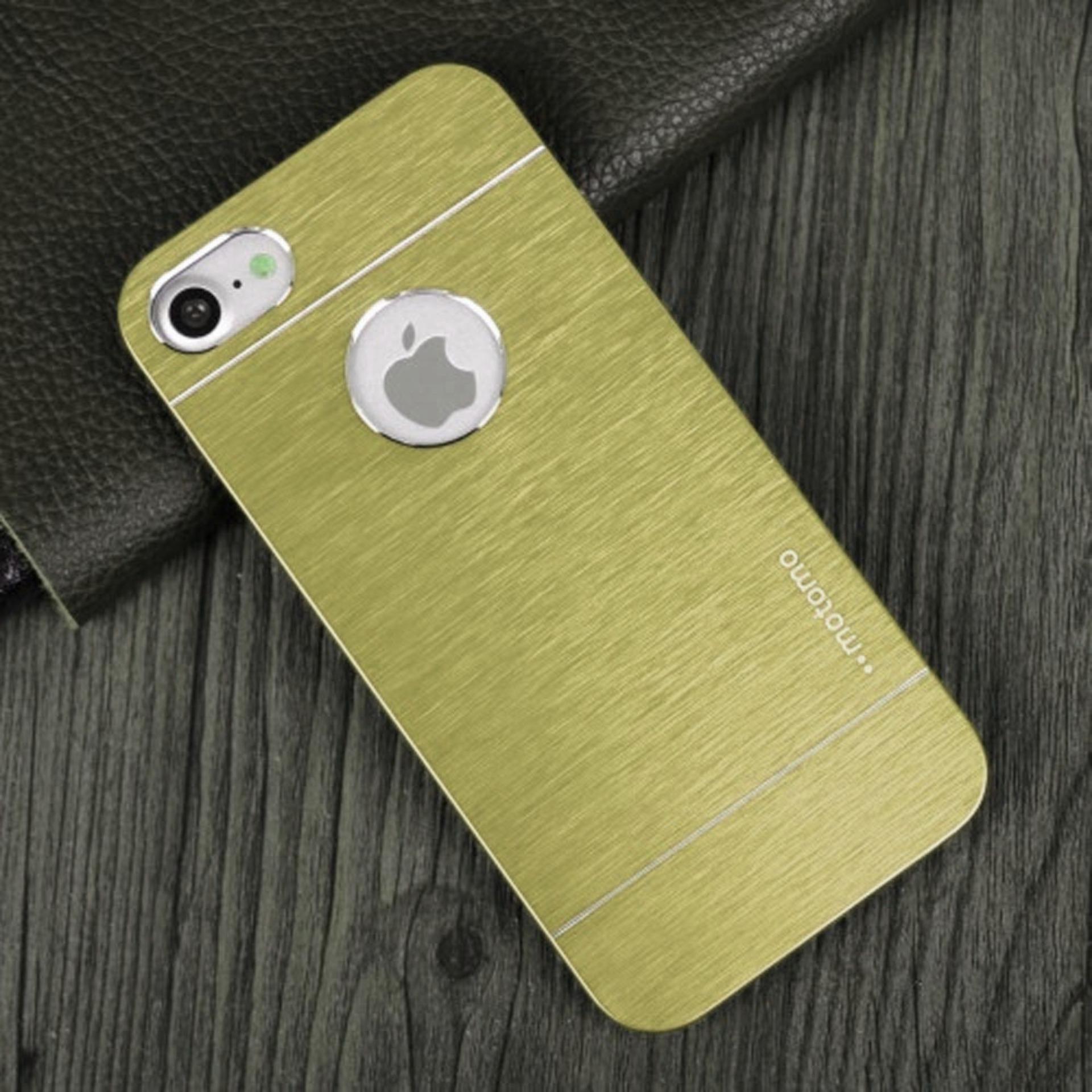 Motomo iPhone 5G/5S/SE Metal Hardcase / Hardcase Backcase / Metal Back Cover  - Gold
