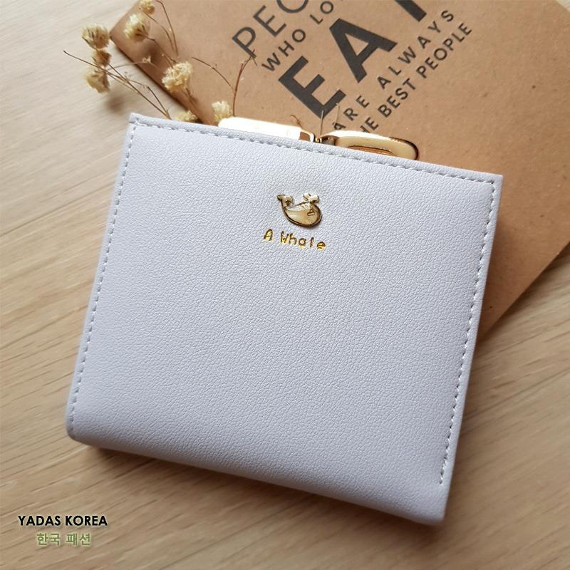 Yadas Korea Meena Dompet Wanita Multi Slot - Soft Grey