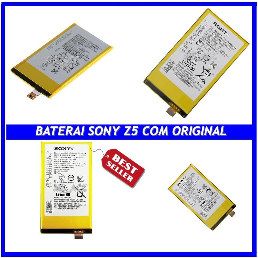 Sony Baterai / Battery Z5 Compact For Sony Original - Kapasitas 2700mAh ( ms_acc )