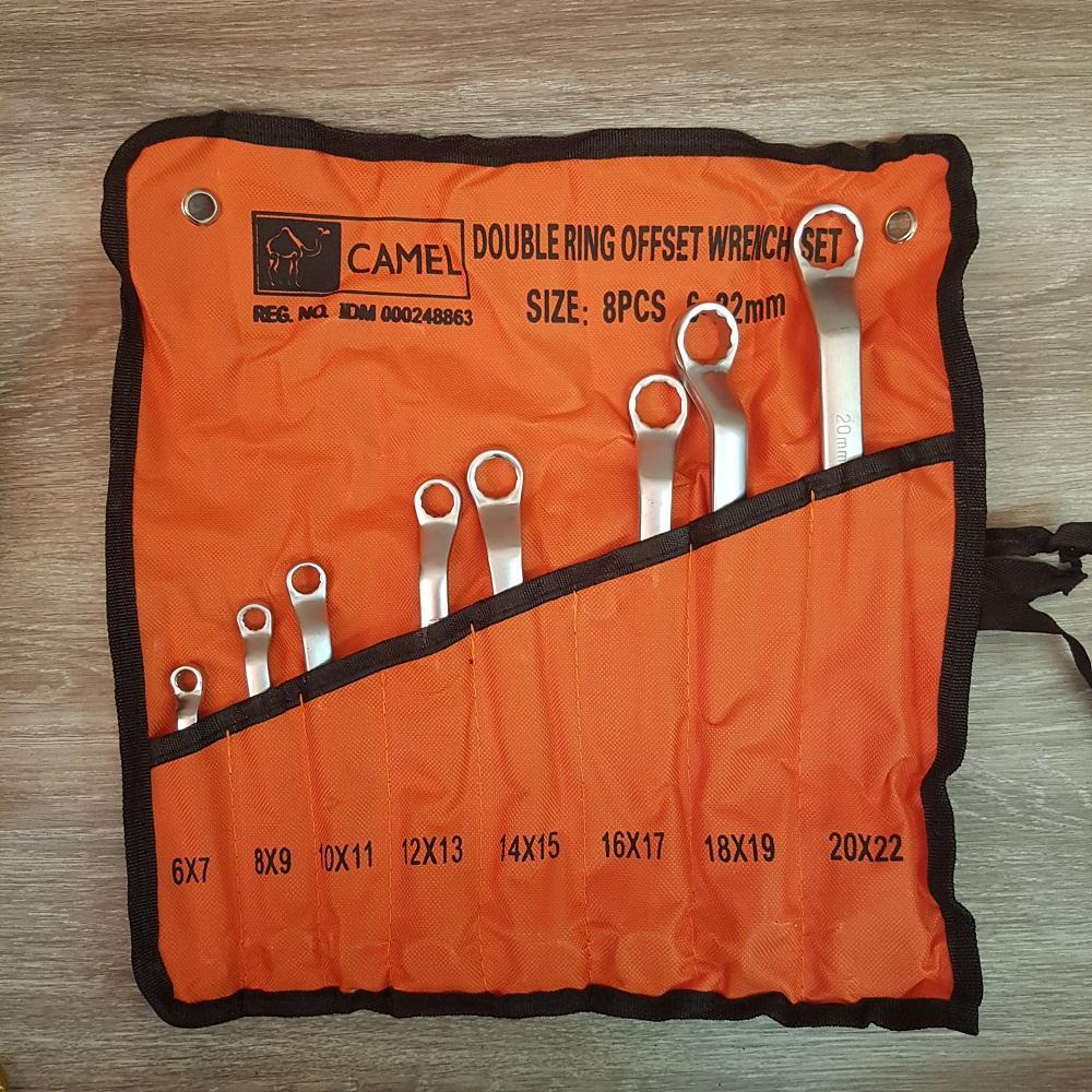 ... Camel Kunci Double Ring Set 8pcs 6mm 2mm Wrench Set 8 pcs 6