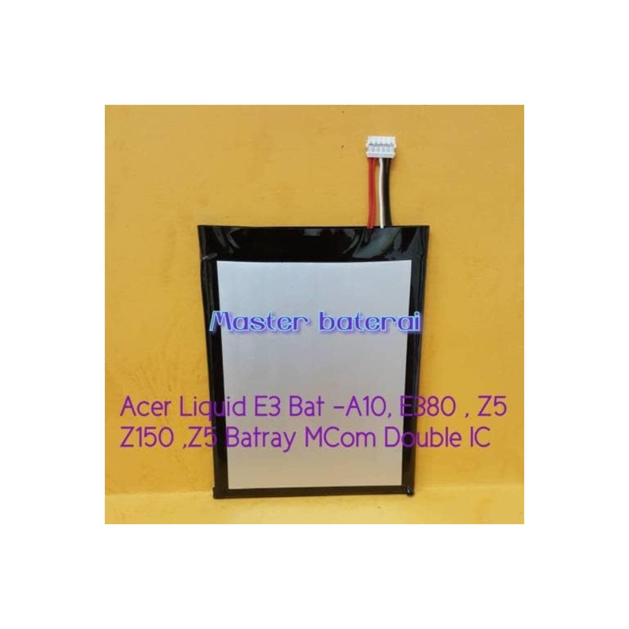 Baterai Acer Liquid E3 E380 Z5 Z150 Z500 Socket Double Power IC