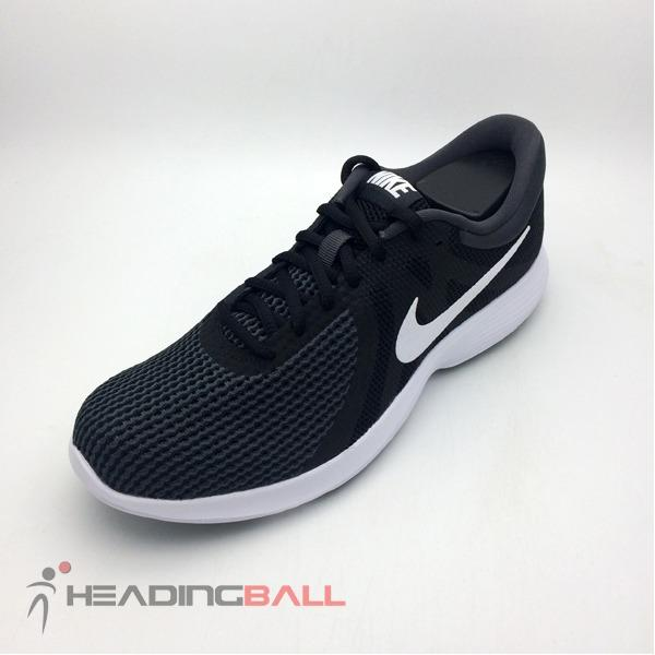 Sepatu Running Lari Nike Original Revolution 4 Black White 908988-001 dbb8f20061