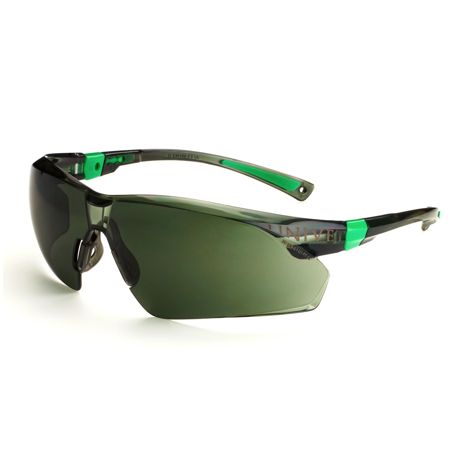 UNIVET 506UP Safety Eyewear (Anti-Scratch / UV400 Protection)