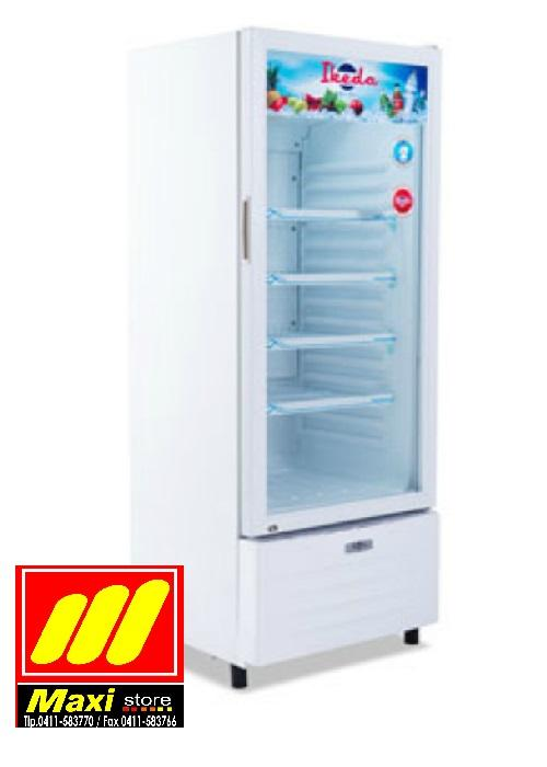Ikeda ISC-200 Display Cooler Showcase 180 Liter 4 Rak - Putih - Maxistore