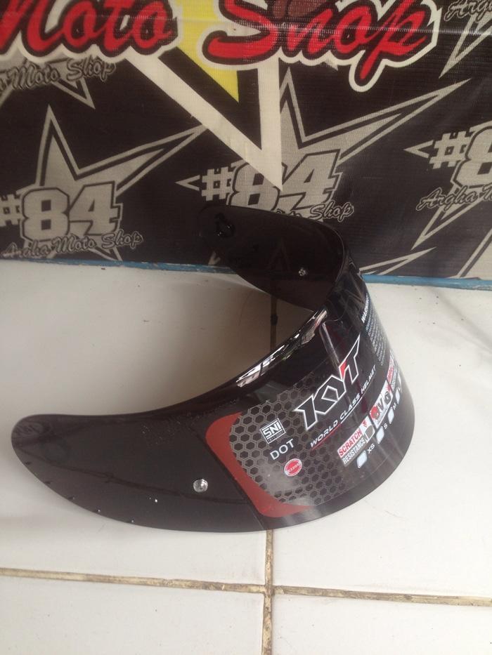 visor KYT RC7/R10/K2R (dark flat )