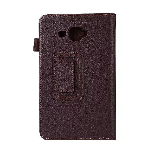 1 Pc/lot For Samsung Galaxy Tab A A6 7.0 SM-T280 SM-T285 Stand PU Leather Flip Cover Case For Samsung T280 T285 Multi-Color