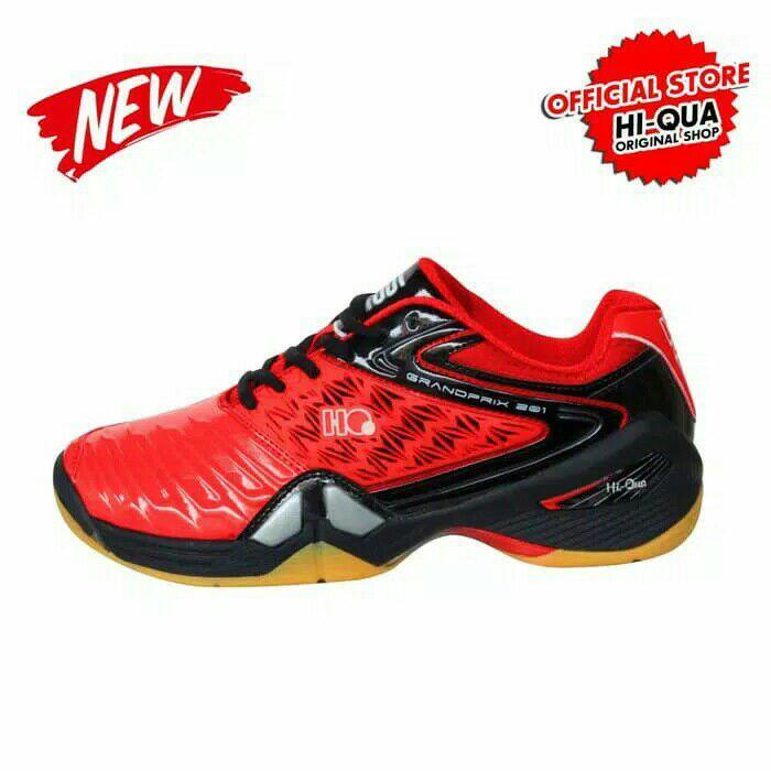 Sepatu Badminton HQ Hi Qua Hi-Qua Grandprix (Original) New Arrival