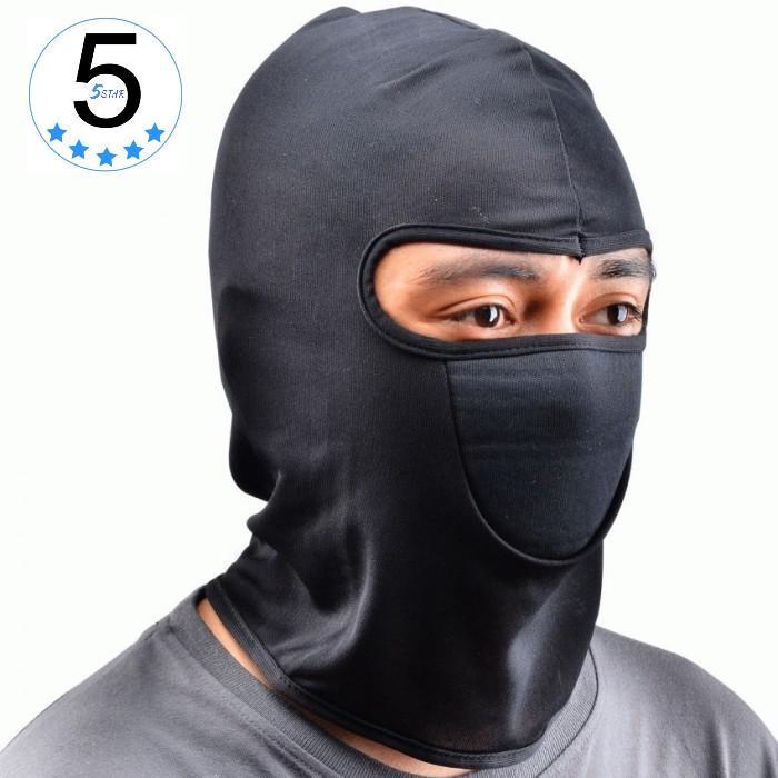 Masker Buff Ninja Anti Debu / Balaclava Masker Motor / Topeng Ninja Sepeda Motor / Cover