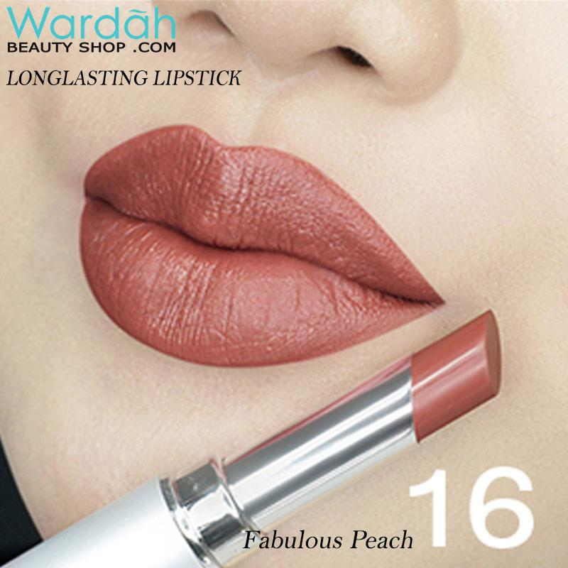 Wardah LONGLASTING Lipstick No 16 Smooth Latte