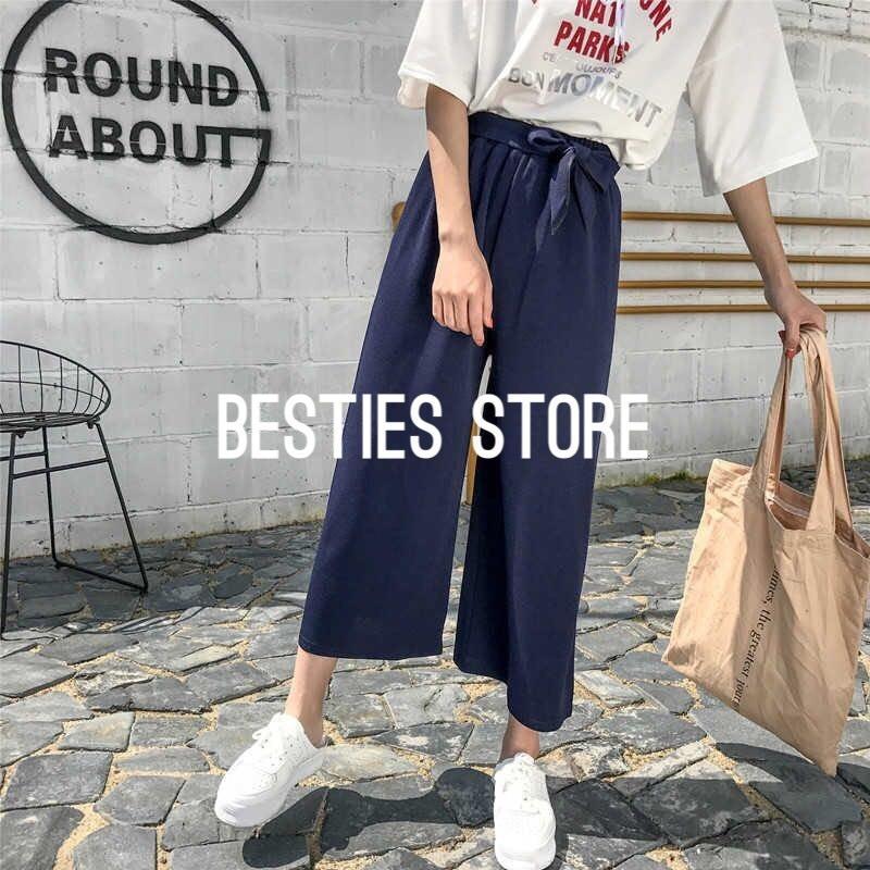 Besties Store Celana Kulot Wanita Cantik dan Trendy All Size Long Cullote Pants