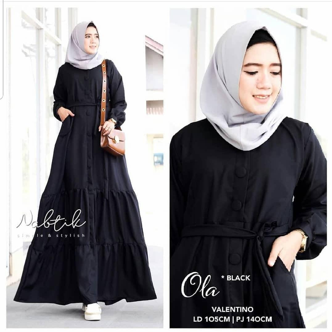 Ola Dress // Baju Gamis // Dress Wanita