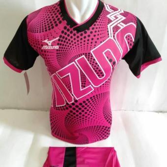 Harga Penawaran [TERBARU MIZUNO 24] Baju Kaos Olahraga Jersey Bola Setelan Futsal/Volly discount - Hanya Rp43.250