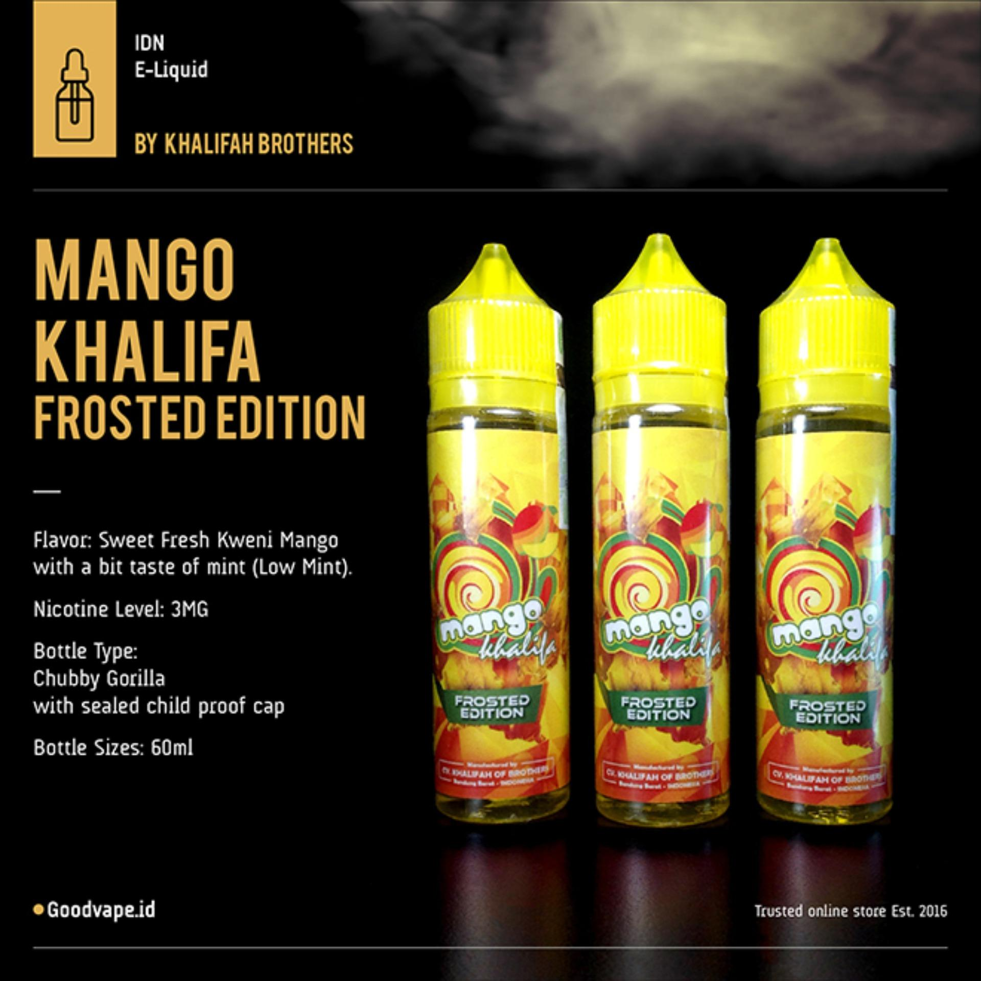 Buy Sell Cheapest Mango Alphonso Salt Best Quality Product Deals Nic Indonesian Juice Elite Bacco Coffee Culture Aphonso Liquid Khalifa Frosted Edition 60ml By Of Brothers