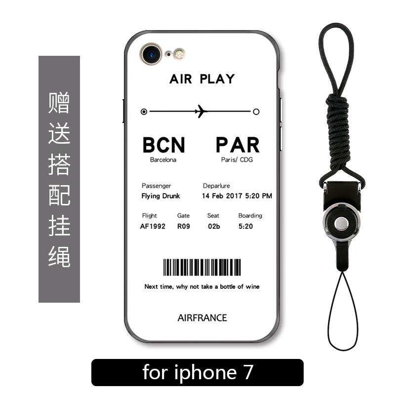 Casing HP Iphone7plus Apple ID Casing Asli Perjalanan Tiket Pesawat